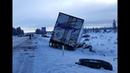 Дальнобой США. Начало зимы 2019. Аварии грузовиков.