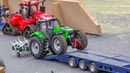 RC tractor ACTION! Awesome mobile display by Hof Mohr!