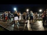 Olivier BOULARD Lesterps juil 2018 anime le P'tit bal du samedi soir