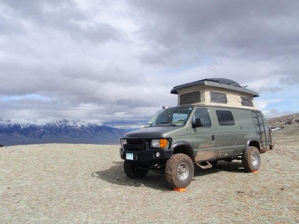 Luxury Off Road Van Van Mitsubishi Delica