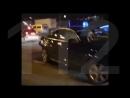 «Мигалка» попала в аварию на МКАД