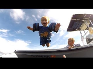 GoProClub: Kellan and Joshua Jumping off at Desoto Point