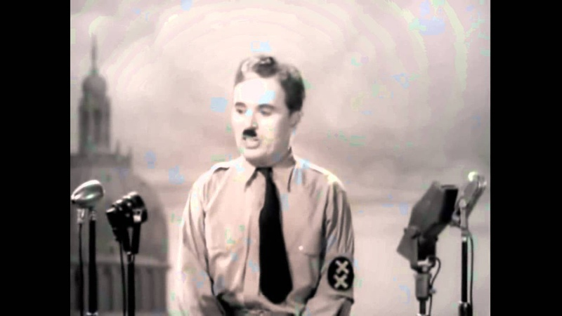 The Great Dictator Speech - Charlie Chaplin Time by Hans Zimmer
