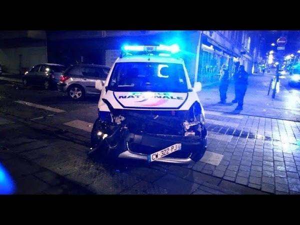 GILET JAUNE ACTE 9⚠️URGENT ⚠️ Le camion fou La police ÉCRASE LES GENS A Strasbourg