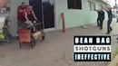 Police Shooting 8 Bean Bag Shotguns
