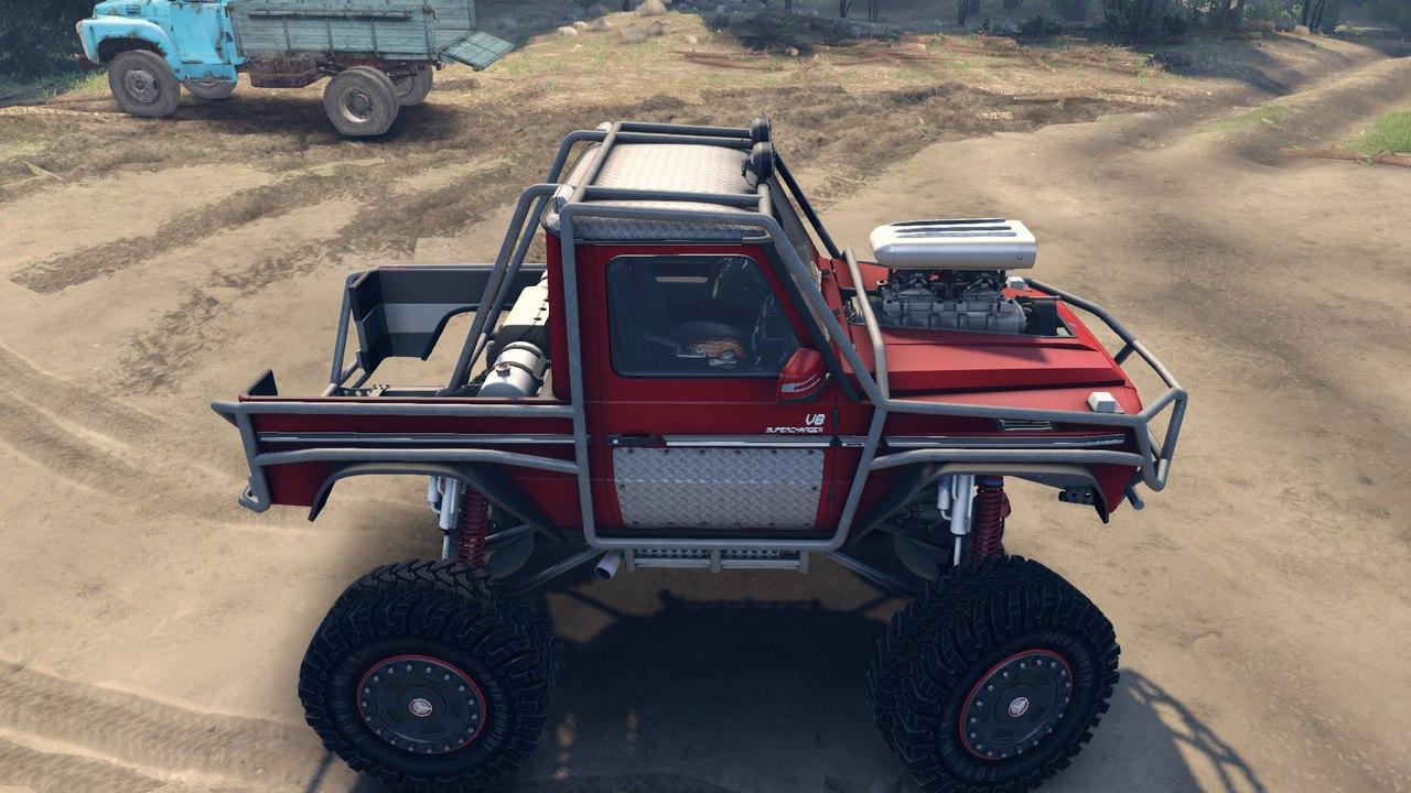 "Mercedes G ""BOG BEAST"" 1.0 для Spintires - Скриншот 2"