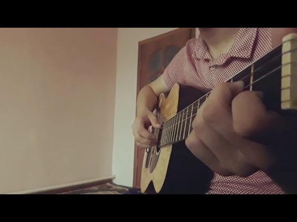 Абай - Желсіз түнде жарық ай гитара cover