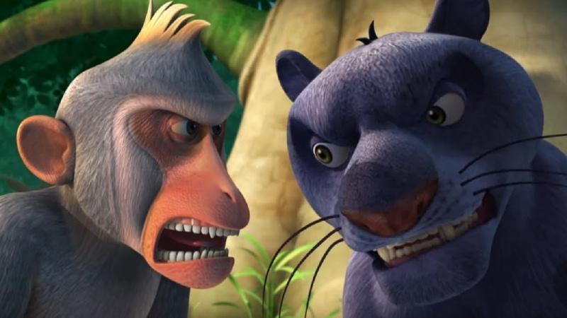 Маугли Книга Джунглей Пропавшая обезьянка развивающий мультфильм для детей