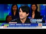 Piers Morgan Criss Angel Interview. Piers Morgan Live