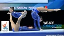 2018 Acrobatic Worlds Antwerp BEL Highlights WOMEN'S GROUPS FINAL We Are Gymnastics