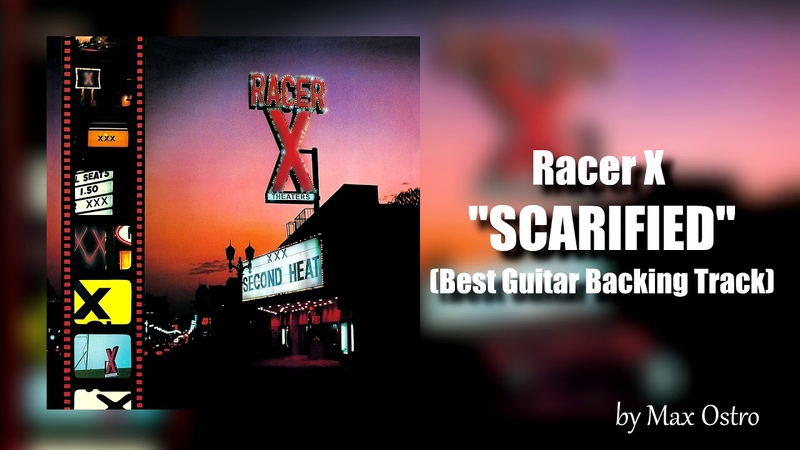 Racer X - SCARIFIED (Best Guitar Backing Track)