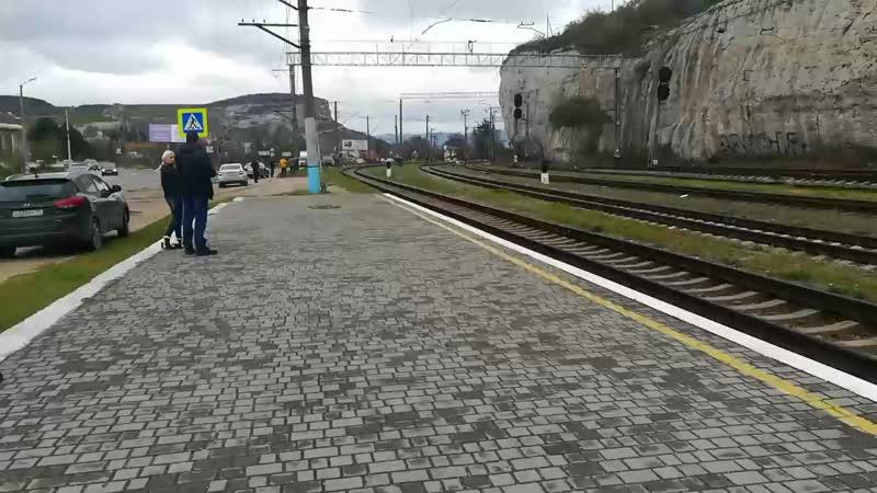 Поезд Победы в Севастополе. ст. Инкерман-1