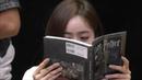 160827 GFriend SinB is Harry Potter mania. ㅋㅋ (at Gwangju fansign event)