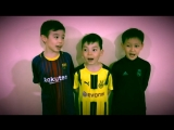 Ученики школы AstanaFF приглашают всех на матч