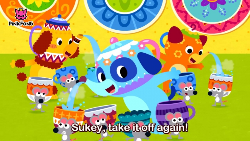 Polly, Put the Kettle On Mother Goose Nursery Rhymes PINKFONG Songs for Children