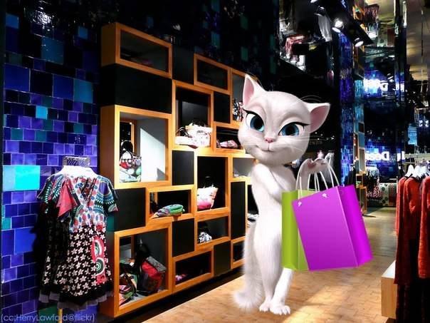 игра кот том и анжела: