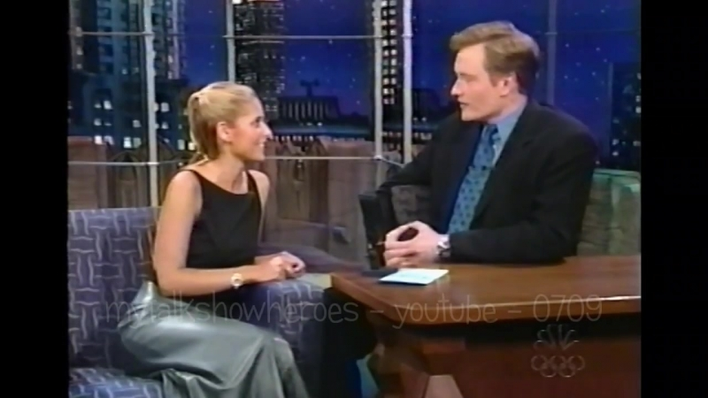 1999.09.29 - Сара на ток-шоу Конана О'Браяна