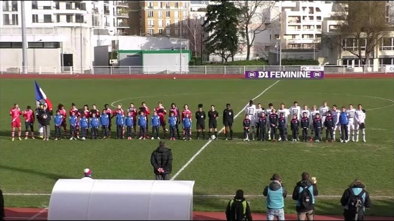 D1 Féminine - J15 - FF Issy OL 0-9 - 11-01-2015 - Le Replay