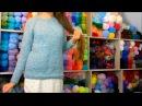Свитер регланом онлайн. Выпуск 26. Окончание вязания свитера и примерка. Прямой эфир Instagram