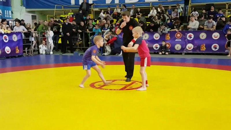 Пыльцин Максим кровью и потом наследие бой за выход в финал 24 кг 2007-2008гр