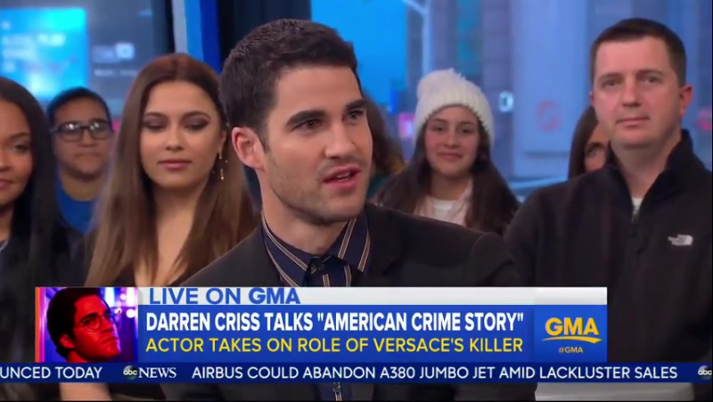 GMA: DarrenCriss talks about the much-anticipated 'The Assassination of Gianni Versace'