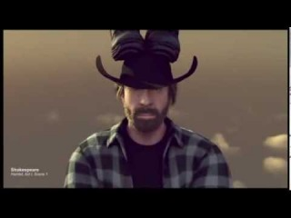 Chuck Norris Merry Christmas and Happy New Year