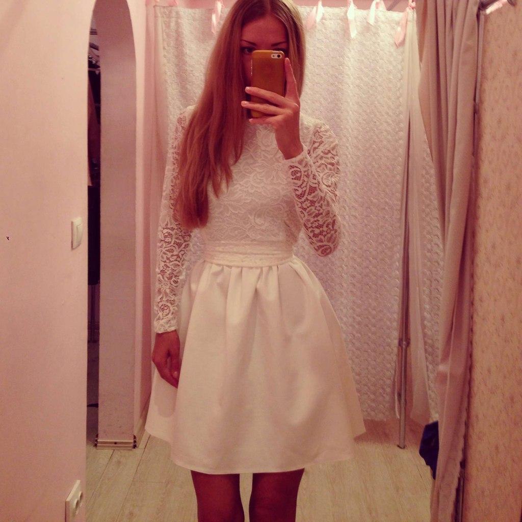 трикотажные платья в пол