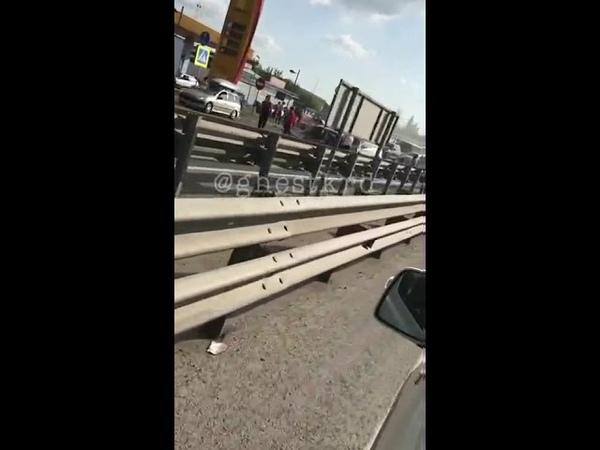 Страшное ДТП на Елизаветинском шоссе в Краснодаре, рядом с тюрьмой