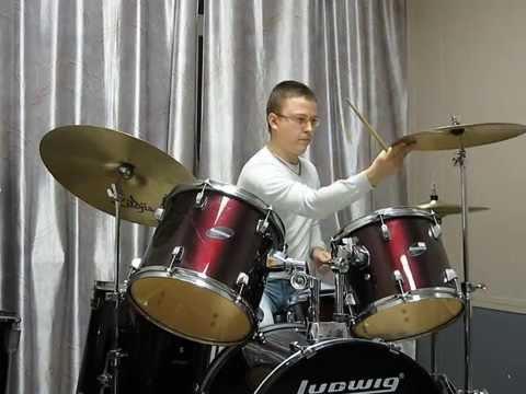 Drum cover Funk.(Berklee practice method).
