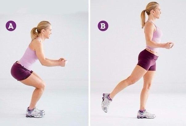 6 лучших упражнений против целлюлита (6 фото) - картинка