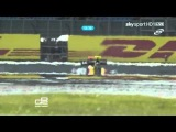 2011 GP2 British Feature Race - Jules Bianchi Against Christian Vietoris