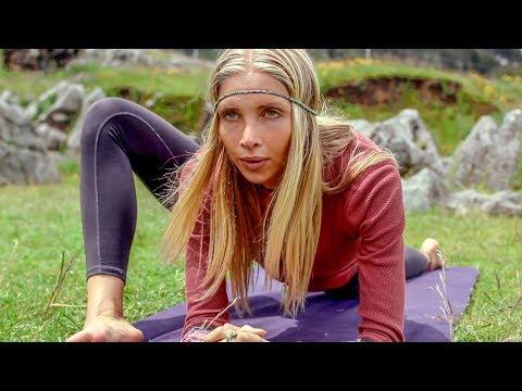 Yin Yoga For Flexibility ♥ Tight Hips Hamstrings   Sacred Valley