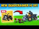*NEW* QUADCRASHER CAR IS INSANE! - Fortnite Funny Fails and WTF Moments! 354