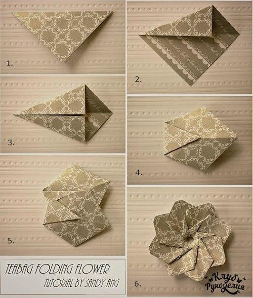 Цветы оригами (2 фото) - картинка