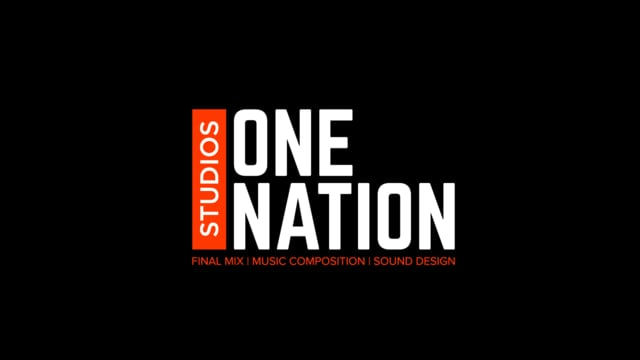 One Nation Studios Showreel 2018