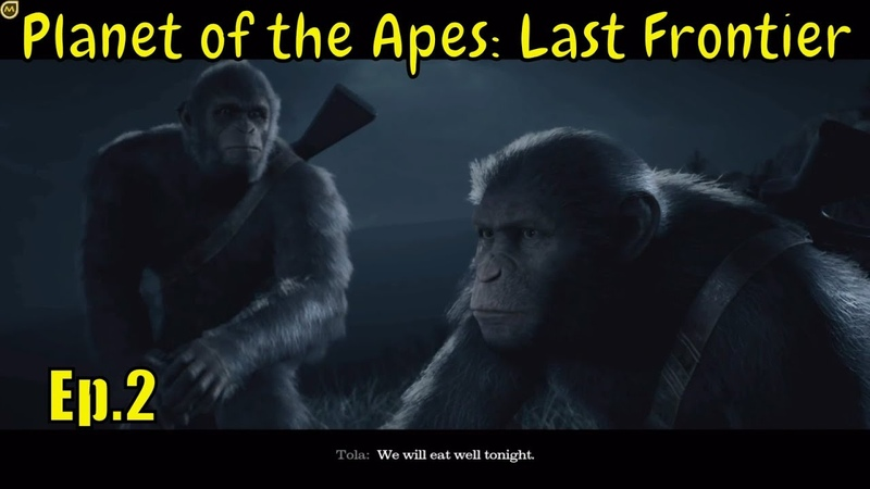 Planet of the Apes: Last Frontier 🐵 '' Two tribes '' 🐵 - Ep. 2