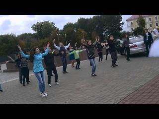 Флешмоб 5 октября 2013, г.Могилев