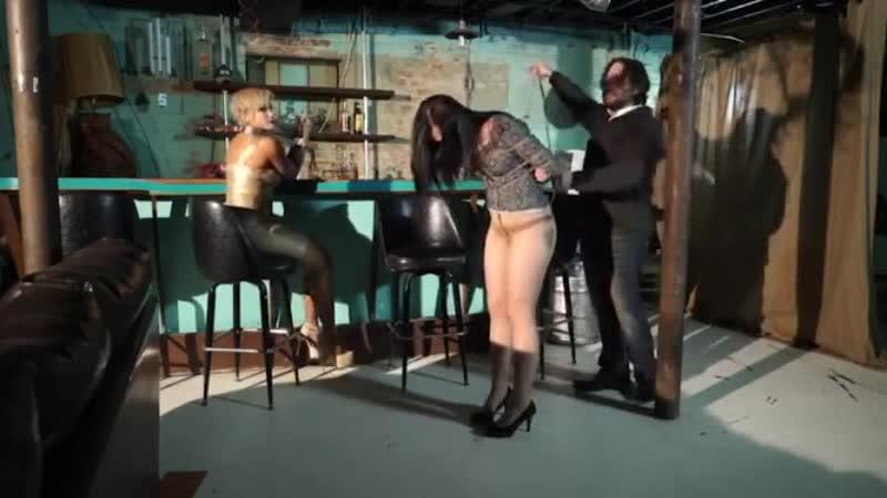 Anna Visits The Bondage Bar