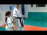 DrobyshevskyKarateSystem:BASSAI DAI-Bunkai Kumite-6-Tate Shuto Uke-Qinna Knife Defense