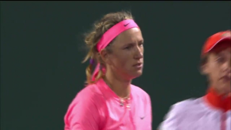 «Vika7 takes the opening set in a tiebreaker