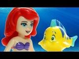 Animated LEGO Ariels Amazing Treasures 41050 Disney Princess Little Mermaid Flash Speed Build