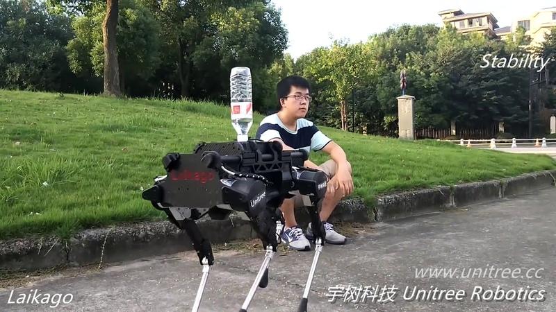 中国版四足机器人,和波士顿动力 boston dynamics 有一拼