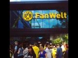 Take a video walk through BVB's brand new FanWelt next to the stadium