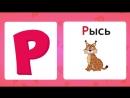 АЛФАВИТ С ЖИВОТНЫМИ для малышей - учим буквы - АЗБУКА для детей - развивающие му