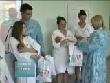 Выписка новорожденных в День защиты детей