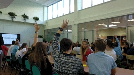 Ученики «Школы Глория» познакомились с профессиями будущего