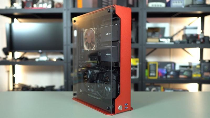 Z-Case P50 Mini-ITX Case Review Build
