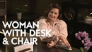 Melissa McCarthy's Tips On Being A Badass | Woman with Desk and Chair | InStyle