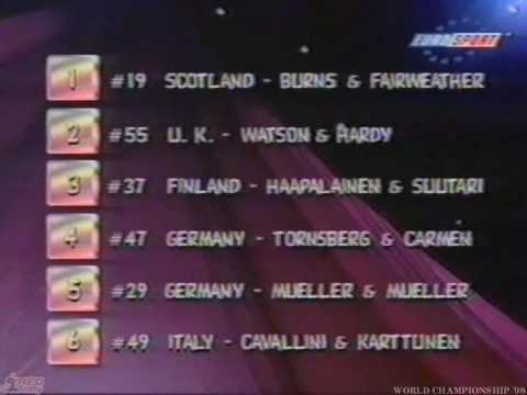 World Championships WDDSC finals 1998 THE AWARDS inc Strictly star karen hardy Bryan Watson