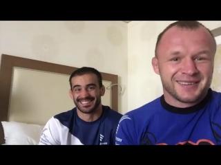 Александр Шлеменко и Андрей Корешков о приятной новости насчёт главного приза Гран-При в 1 миллион долларов от 50 Cent